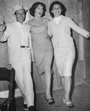 Adolph Green Photo - Adolph Green Carol Burnett and Betty Comden Globe Photos Inc Obit