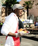 Aldis Hodges Photo - Aldis Hodge - LA Mission Serves Christmas Meal to the Homeless - Los Angeles California - 12-22-2006 - Photo by Nina PrommerGlobe Photos Inc 2006