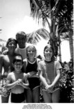 JFK Jr Photo - John F Kennedy Jr in Hawaii with Sister Carolyn Right Uncle Peter Lawford Cousins Christopher and Sydney Lawford 1966 Photo the Lawford CollectionGlobe Photos Inc