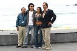 Ana Isabelle Photo - San Sebastian Film Festival 2004 Irda a Drch Fabio Restrepojuanuribeana Isabel Velazquezvictor Gabiria Photo by Yudania ReiaciGlobe Photos Inc