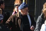 Jerry Stiller Photo - Jerry Stiller at Philip Seymour Hoffmans Funeral Mass at Stignatius of Loyola Church on Park Ave 2-7-2014 John BarrettGlobe Photos