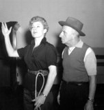 Jimmy Durante Photo - Shelley Wintersjimmy Durante Photo Nate CutlerGlobe Photos Inc