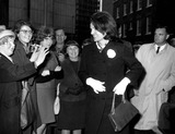 Lee Radziwill Photo - Jacqueline Kennedy Arriving at the Home of Her Sister Princess Lee Radziwill at No 4 Buckingham Palace in London 5161965 Supplied by Globe Photos Inc