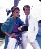 Jennifer ONeill Photo - Jon-erik Hexum and Jennifer Oneill Cover Up Tv-film Still Photo Supplied by Globe Photos