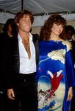 Andy Gibb Photo - Victoria Principal with Andy Gibb 3-1981 11576 Photo by Phil Roach-ipol-Globe Photos Inc