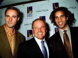 Al Leiter Photo - the Starlight Childrens Foundations 14th Annual Celebrity Sports Auctions New York City 11032003 Photomitchell Levy  Rangefinders  Globe Photosinc 2003 AL Leiter Warner Wolf and James Blake