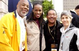 Jackie Joyner-Kersee Photo - THE CITY OF LOS ANGELES MARATHON 20TH ANNIVERSARY MARCH 6 2005 IN LOS ANGELES RUNNER HOWARD BINGHAM JACKIE JOYNER KERSEE AND FORMER STATE ASSEMBLYMAN HERB WESSON AND JOANIE SAMUELSON BENOITVALERIE GOODLOEK42057VGPHOTO VALERIE GOODLOE  GLOBE PHOTOS INC  2005