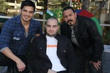 Benny Nieves Photo - 5th Annual Celebrity Blood Drive Hosted by Nicholas Gonzalez and Benny Nieves Childrens Hospital Los Angeles-blood Donation Center Los Angeles CA 12142013 Nicholas Gonzalez Gaspar Melikyan and Emilio Rivera Clinton H WallacephotomundoGlobe Photos Inc
