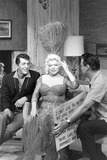 Dean Martin Photo - Mae West with Dean Martin an Hour with Hope and Martin 1959 Photo by Ken Parker-Globe Photos Inc