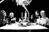 ABBA Photo - Anni-frid Lyngstad Bjorn Ulvaeus Benny Anderson and Angetha Faltskog of Abba 61978 SmpGlobe Photos Inc