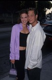 Randy Spelling Photo - Cristi Ellen Harris with Randy Spelling at the Nbcs Annual Teen Press Event in Los Angeles 1998 K13019fb Photo by Fitzroy Barrett-Globe Photos Inc
