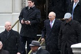 Al DAmato Photo - Funeral For Former New York Governor Mario Cuomo at St Ignatius Loyola Church on Park Ave in Manhattan Stripe Tie and Glasses Former Senator Al Damato Photo by Bruce Cotler- Globe Photos Inc