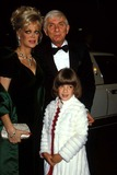 Aaron Spelling Photo - Aaron Spelling with Wife Candy Spelling and Daughter Tori Spelling Ipol-Globe Photos Inc