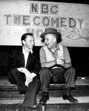 Jimmy Durante Photo - Frank Sinatra with Jimmy Durante Photo by Globe Photos Inc