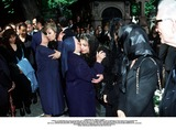 As Yet Photo - IMAPRESS PH  BENITO  CLEMOTFUNERAL OF PRINCESS LEILA PAHLAVI IN PARIS 16TH JUNE 2001 IN TOTAL BEREAVEMENT THE EX-EMPRESS OF IRAN FARAH PAHLAVI BURIED HER DAUGHTER IN THE PASSY CEMETERY IN PARIS LEILA PAHLAVI 31 PASSED AWAY A WEEK AGO IN LONDON THE OFFICIAL COMMUNIQUE WRITTEN BY HER MOTHER INDICATED THAT SHE PASSED AWAY IN HER SLEEP BUT THE EXACT CIRCUMSTANCES OF THE DEACEASED REMAIN AS YET UNKNOWNNUNS BRING COMFORT TO EMPRESS FARAH AND PRINCESS FARAHNAZCREDIT IMAPRESSCLEMOTBENITOGLOBE PHOTOS INC