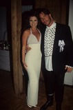 Yasmine Bleeth Photo - Ricky Paull Goldin with Yasmine Bleeth at the Faith Winter Ball Ben Aids and Breast Cancer 1995 K0395eg Photo by Lisa Rose-Globe Photos Inc