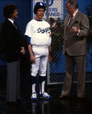 Johnny Carson Photo - Johnny Carson at the Tonight Show 1982 12350 Photo by Allan S Adler-ipol-Globe Photos Inc