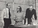 Trevor Howard Photo - Sidney Lumet with Trevor Howard and Sean Connery on Location of Sometime Like the Truth in Bracknell New Town Supplied by Globe Photos Inc