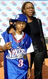 Lil Bow Wow Photo - Lil Bow Wow and His Mother Nickelodeon Holds Their 15th Annual Kids Choice Awards Barker Hangar Santa Monica CA April 20 2002 Photo by Nina PrommerGlobe Photos Inc2002