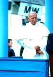 John Paul Photo - Pope John Paul Ii Photo by Ron Lopez Globe Photosinc