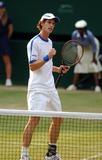 Andy Murray Photo - 062081 Andy Murray Andy Murray Vs Andy Roddick Wimbledon Tennis Championships 2006 Day 6 at Wimbledon in London 07-01-