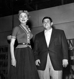 Buddy Hackett Photo - Janet Leigh and Buddy Hackett Supplied by Globe Photos Inc Janetleighretro