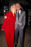 Aaron Spelling Photo - Aaron Spelling with Candy Spelling 1995 Photo by Doughton-michelson-Globe Photos Inc