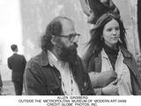 Allen Ginsberg Photo - Allen Ginsberg Outside the Metropolitan Museum of Modern Art 0469 Credit Globe Photos Inc