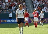 Abby Wambach Photo - Fifa Womens World Cup USA 2003 USA Vs Canada at the Home Depot Center Carson CA 10112003 Photo by Fitzroy BarrettGlobe Photos Inc2003 Abby Wambach