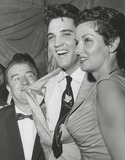 Lou Costello Photo - Lou Costelloelvis Presleyjane Russell Photo Globe Photos Inc