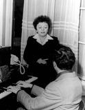 Edith Piaf Photo - Edith Piaf Photo by InterpressGlobe Photos Inc
