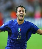Alberto Gilardino Photo - Alberto Gilardino Celebrates Italy 1st Goal Germany V Italy Alberto Gilardino Germany V Italy K48508 World Cup Soccer World Cup Stadium in Dortmund Germany 07-04-