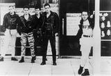 Joe Strummer Photo - The Clash Paul Simonon Pete Howard Vince White Nick Sheppard Joe Strummer Photo Supplied by Globe Photos