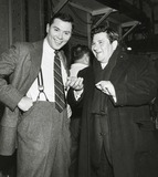 Buddy Hackett Photo - Buddy Hackett and Gene Rayburn Photo by Globe Photos Inc Buddyhackettretro