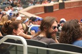 Black Crowes Photo - Chris Robinson of the Black Crows Enjoys the Mets Game at Citifield in New York City 06-25-2009 Photo by Barry Talesnick- Ipol-Globe Photos Inc