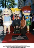 Arlene Klasky Photo -  Rugrats Star Walk of Fame Hollywood Blvd Hollywood CA 062801 Gabor Csupo and Arlene Klasky with Tommyangelica and Chucky Photo by Paul SkipperGlobe Photosinc