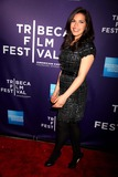 AMERICA FERRARA Photo - The Tribeca Film Festival Screening and World Premiere of Letters to Juliet Red Carpet Arrivals Sva Theater NYC April 25 10 Photos by Sonia Moskowitz Globe Photos Inc 2010 America Ferrara
