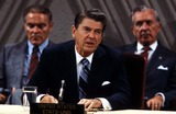 Alexander Haig Photo - Alexander Haig Ronald Reagan and Donald Regan Photo by James ColburnipolGlobe Photos Inc 1981 Ronaldreaganretro