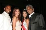 Ashok Amritraj Photo - the Vijay Amritraj Foundation 2008 Gala Banquet Four Seasonsbeverly Wilshire Hotel Beverly Hills California 10-18-2008 Prakash Amritraj and Ashok Amritraj Posing with Miss India Photo Clinton H Wallace-photomundo-Globe Photos Inc