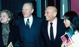 Yul Brynner Photo - Gerald Ford and Betty Ford Yul Brynner and Wife Kathy Lee PhotoGlobe Photos Inc