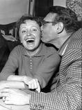 Edith Piaf Photo - Edith Piaf and Frankie Laine Photo by Reporters AssociesipolGlobe Photos Inc