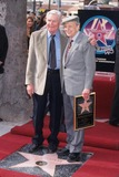 Andy Griffith Photo - Don Knotts with Andy Griffith Star on the Hollywood Walk of Fame in Los Angeles 2000 K17432mr Photo by Milan Ryba-Globe Photos Inc