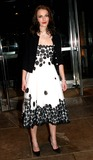 Alice Temperley Photo - Keira Knightley Out and About at the Midtown Hotel  New York City 12082003 Photo by Barry Talesnick  Ipol  Globe Photosinc Wearing Alice Temperley