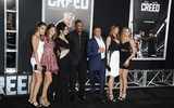 Carl Weathers Photo - Carl Weathers Slyvester Stallone Jennifer Flavin Sistine Stallone Scarlet Stallone Sophia Rose Stallone attending the Los Angeles Premiere of Creed Held at the Regency Village Theater in Westwood California on November 19 2015 Photo by David Longendyke-Globe Photos Inc