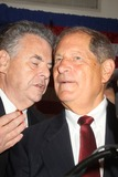 Anthony Weiner Photo - BOB TURNER RIGHT AND CONGRESSMAN PETER KING   LEFTBob Turner won the special election on September 13 2011 for congress defeated David Weprin to replace Rep Anthony Weiner who resignedBob Turner victory party won the congress seat at Rome View restaurant in Howard Beach Queens New York 09-13-2011Photo by Mitchell Levy-Globe Photos inc