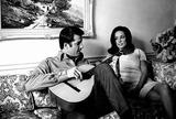 Lyle Waggoner Photo - Lyle Waggoner and Wife Photo Bybill HolzGlobe Photos Inc