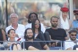 Tony Parker Photo - Tony Parker and Wife Axelle Francine Celebrity at Day 12 of Tennis Us Open at Arthur Ashe Stadium 9-6-2014 John BarrettGlobe Photos