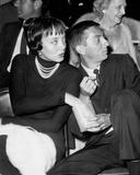 Aaron Spelling Photo - Aaron Spelling with Carolyn Jones A461 Supplied by Globe Photos Inc