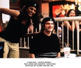 Jackie Brown Photo -  Jackie Brown  Pam Grier and Quentin Tarantino Supplied by Globe Photos Inc