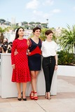 Alice Rohrwacher Photo - Monica Bellucci Alba Rohrwacher and Alice Rohrwacher Le Meraviglie Photo Call Cannes Film Festival 2014 Cannes France May 18 2014 Roger Harvey
